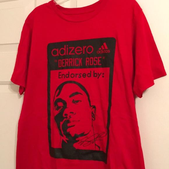 d rose adidas shirt
